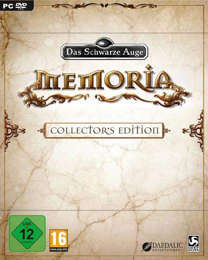 Memoria pudełko wersji kolekcjonerskiej