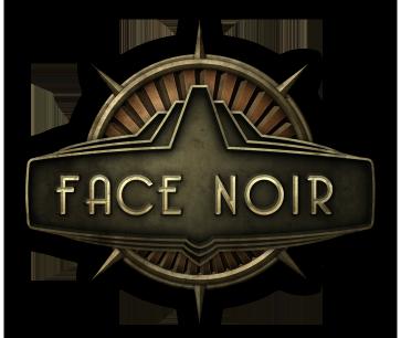 Logo Face Noir