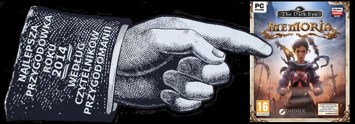 Przygodówka roku 2014 według czytelników Przygodomanii