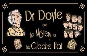 Dr._Doyle_&_The_Mystery_Of_The_Cloche_Hat. news banner