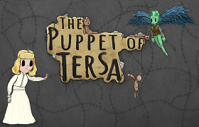 Puppet of Tersa. news banner