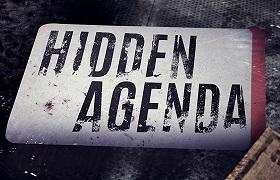 Hidden Agenda. news banner
