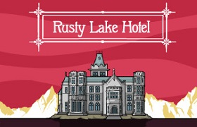 rusty lake hotel. news banner