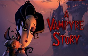 a vampyre story. news banner