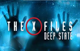 x files deep state. news banner
