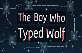 the boy who typed wolf.news baner