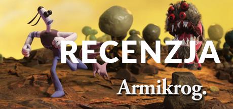 Baner informujący o recenzji gry Armikrog